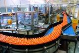 Ligne de procédé de production de boissons gazières à base d'alcool