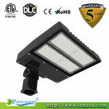 ETL cETL Dlc 150W Usagé Parking Lot Poles Lumières LED Yard Pole Light