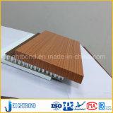 Comitati di alluminio del favo del grano di legno certo per il divisorio