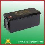 batería profunda del AGM del ciclo de 12V 180ah para solar/el infante de marina
