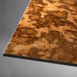 Partición de color panel de cemento panel de cemento de revestimiento UV de fibra exterior decoración de la pared Revestimiento