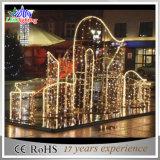 LEIDENE van de Decoratie van de Strook van de Straat van de Vakantie van de aankomst de OpenluchtLichten van Kerstmis