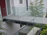 DIN En 12150를 가진 현관 Frameless 유리제 방책 또는 강화 유리 난간