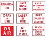 Méthode de DEL AVB sur les signes en service de cabinet noir d'air