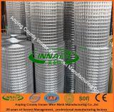 Treillis métallique soudé d'acier inoxydable de construction ISO9001
