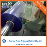 rolo de película calandrado 0.15mm do PVC para o vácuo que dá forma à bandeja cosmética