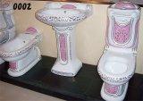 Set complet pour salle de bains toilettes (0002)