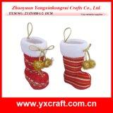 Het Gebruik van de Gift van het Punt van de Laars van Kerstmis van de Vakantie van Kerstmis van de Decoratie van Kerstmis (zy16y015-1 14CM)