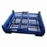 Faltender Metalldraht-Ineinander greifen-Ladeplatten-Gestell-Rahmen