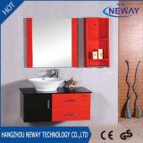 Governo di stanza da bagno fissato al muro all'ingrosso di legno solido dello specchio