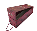 주문 Gift Box Packaging 또는 Wine Paper Gift Box