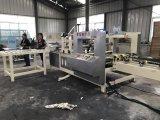 Pliage de cartons de papier ondulé et machine automatiques à grande vitesse de collage
