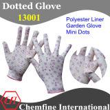 ПВХ покрытием с точкой трикотажные перчатки