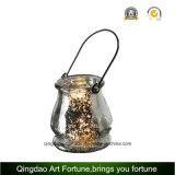 Corpo Handle Glass Hurricane Lantern Fabricante Home Decor