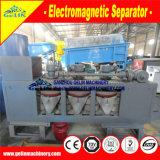 Máquina eletromagnética do único disco do separador do Monazite para o enriquecimento do minério do Monazite