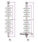 Silikon-Gummi-zusammengesetzte Isolierung 100kn 70kn - Chinapin-Isolierung, elektrische Isolierung China Iec-110kv