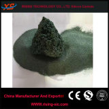 Poudre réfractaire de carbure de silicium de vert de matériau abrasif