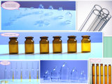 Nullglasampulle des borosilicat-5ml hergestellt von importiertem bernsteinfarbigem Gefäß