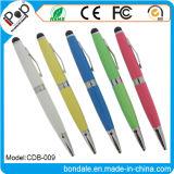 Penna di sfera popolare dello stilo della penna a doppio scopo per lo schermo di tocco