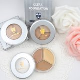 Contorno Palete Fo0346 impermeable de la fundación de Concealer del maquillaje de 3 colores