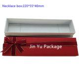 Rectángulo de empaquetado del diseño Jy-Jb78 del papel de la joyería única de encargo popular de la cartulina