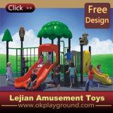 CE Intéressant parc d'attractions pour enfants en plastique de jeu extérieure