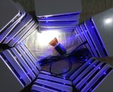 Sistema solar dos jogos da iluminação do diodo emissor de luz com luz de alumínio da lâmpada do diodo emissor de luz
