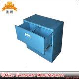 Anti-Inclinar o gabinete de arquivo das gavetas da lateral dois do metal da estrutura