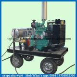 500bar高圧ぬれた砂の洗剤ディーゼル水クリーニング機械