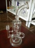 Conduite d'eau de narguilé en verre de Pyrex du best-seller 2015