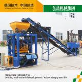 Exportation de machine de fabrication de brique de bloc de la colle Qt4-24 vers la Mozambique