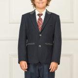 Escuela Uniforme Uniforme Escudo Blazer Niños y Niñas de la escuela de invierno