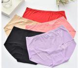 Forma 2017 nova e roupa interior puro do algodão das mulheres confortáveis