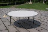 Tabella di piegatura di plastica rotonda della mobilia istantanea dai 6 piedi