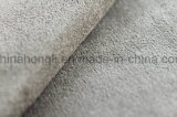 Faux Suede Weft Woven Fabric, 114GSM, 100% poliéster
