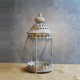 De Lantaarn van de Kaars van het Metaal van de Stijl van Marokko voor de Decoratie van het Huis