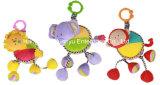 Игрушка тяги движения младенца поставкы фабрики заполненная плюшем музыкальная