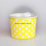 4/6/8/12oz Paper Cup voor Yogurt en Ice Cream