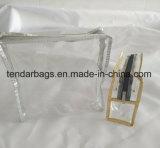 De duidelijke Toiletry van de Zak van pvc Kleine Zak van de Reis voor de Reeks van de Was van het Vliegtuig of van het Hotel