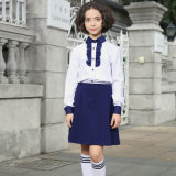 Middel School Shirt for Boy, Slim Fit School Shirt Uniforme