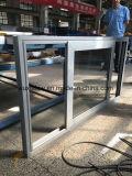 Glisser le guichet en aluminium avec le prix bon marché et la meilleure qualité