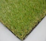 Hilado sintetizado de interior al aire libre del césped artificial que ajardina (LS)