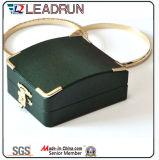 Schmucksache-Geschenk-Schaukarton-Schmucksache-gesetzter Kasten-kosmetischer Speicher-Geschenk-Verpackungs-Samt-Ring-Plastikablagekasten (Ys303)