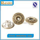 Горячая кнопка джинсыов металла конструкции способа надувательства (SK-N382)