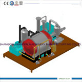 Plastique à la pyrolyse diesel de raffinage et à la machine combinée par Distillaiton