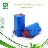 三角形芝生ランプ、太陽電池パネルのための再充電可能な12V 2000mAh李イオン電池