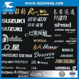 Het Embleem van het Teken van het Embleem van de Sticker van het Kenteken van het etiket