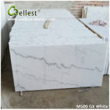 La Chine Popular White Marble M500 Gx White Polished Marble Tile pour Floor/Wall Cladding