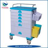 Produits médicaux d'hôpital d'ABS soignant le chariot à médecine