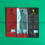 Мешок кофеего упаковки BOPP/Al/PE составной с клапаном
